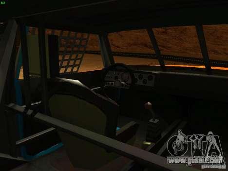 Jupiter Eagleray MK5 for GTA San Andreas side view