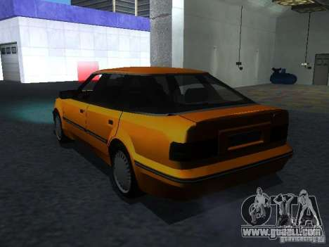 Ford Sierra Mk1 Sedan for GTA San Andreas left view
