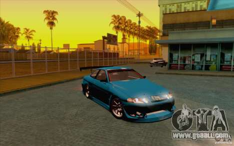 Toyota Soarer (JZZ30) for GTA San Andreas back left view