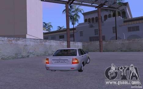 LADA 2170 Priora Pnevmo for GTA San Andreas right view