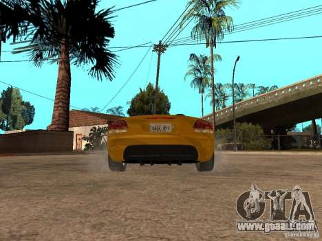 Dodge Viper SRT10 Impostor Tuning for GTA San Andreas