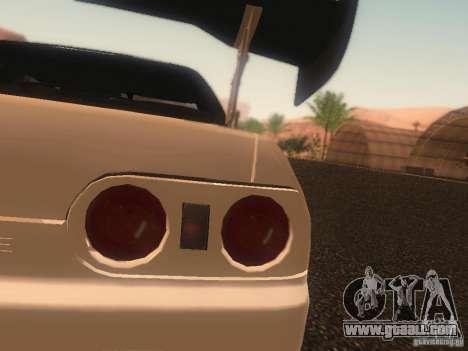 Nissan Skyline GTS R32 JDM for GTA San Andreas upper view
