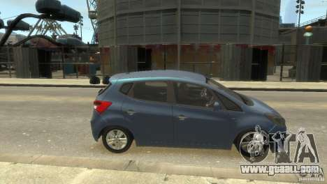 Hyundai IX20 2011 for GTA 4 right view