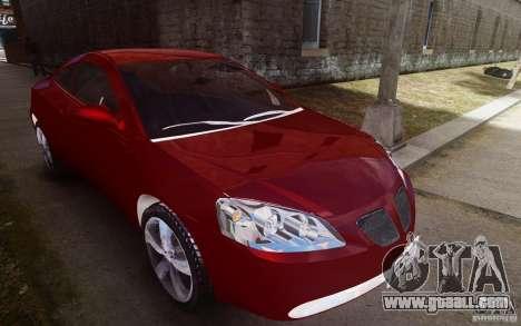 Pontiac G6 for GTA 4 side view