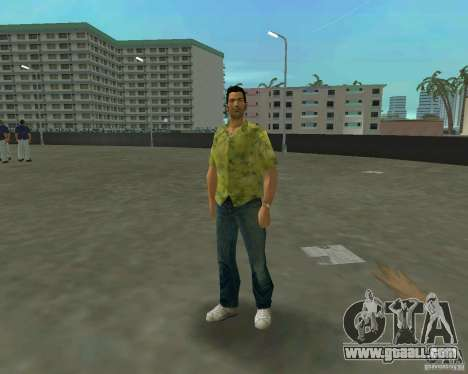 Tommy in HD + new model for GTA Vice City third screenshot