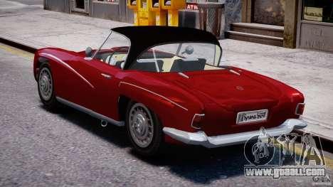 FSO Syrena Sport 1960 for GTA 4 back left view
