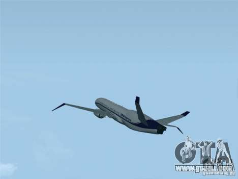 Boeing 737 Iron Man Bussines Jet for GTA San Andreas left view