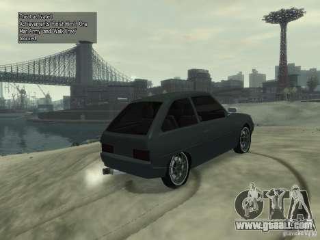 ZAZ 1102 Tavria for GTA 4 right view