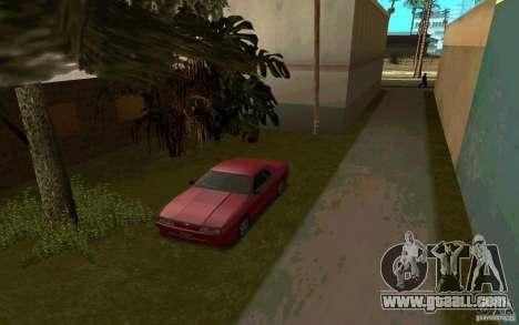 Sport cars near Grove Street for GTA San Andreas forth screenshot