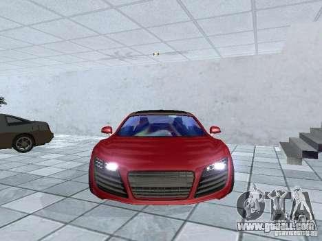 Audi Le Mans Quattro for GTA San Andreas back view