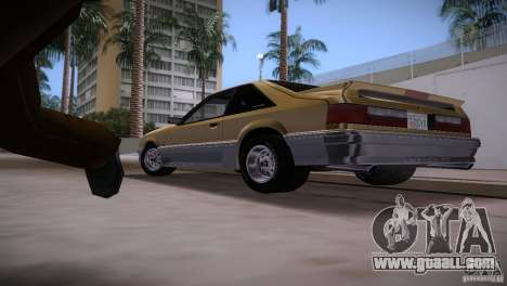 Ford Mustang GT 1993 for GTA Vice City side view