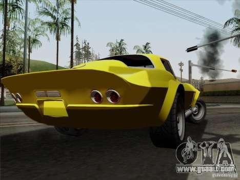 Chevrolet Corvette 1967 for GTA San Andreas