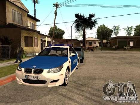BMW 5-er Police for GTA San Andreas