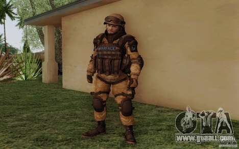 Šturomvik of Warface for GTA San Andreas