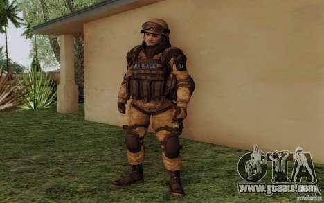 Šturomvik of Warface for GTA San Andreas