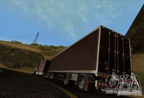 Trailer for Freightliner Classic XL Custom for GTA San Andreas