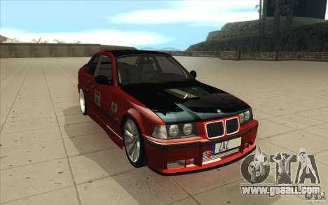 BMW Fan Drift Bolidas for GTA San Andreas back view