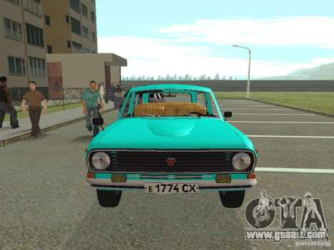 GAZ-24 Volga 12 for GTA San Andreas right view