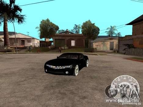 Chevrolet Camaro Concept for GTA San Andreas