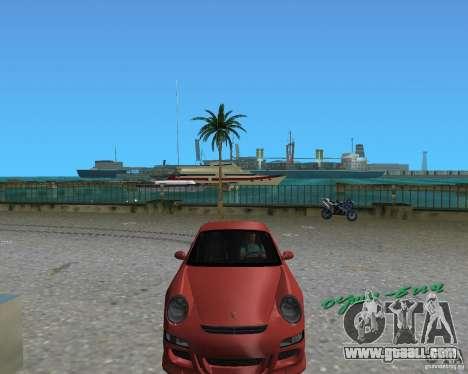 Porsche 911 GT3 for GTA Vice City right view