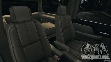 Chevrolet Suburban GMT900 2008 v1.0 for GTA 4 upper view