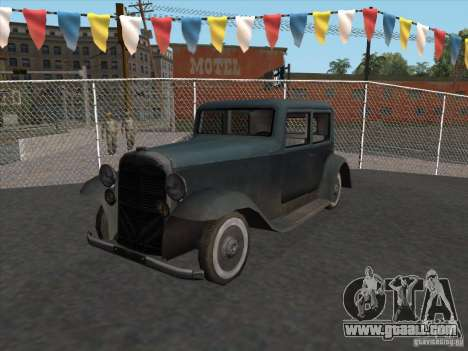 The vehicle of the second world war for GTA San Andreas