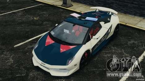 Lamborghini Sesto Elemento 2011 Police v1.0 ELS for GTA 4