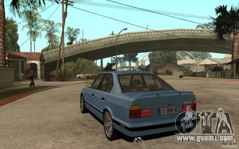 BMW E34 535i 1994 for GTA San Andreas back left view