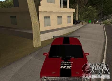 VAZ 2101 Drag for GTA San Andreas left view