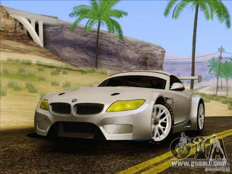 BMW Z4 E89 GT3 2010 Final for GTA San Andreas right view