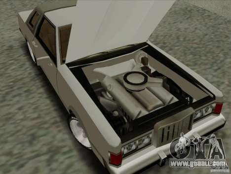 Virgo Continental for GTA San Andreas upper view