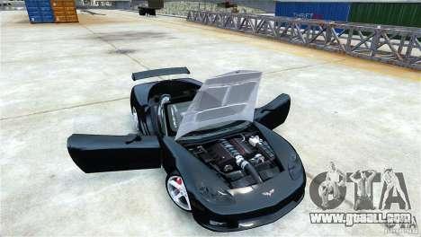 Chevrolet Corvette C6 Convertible v1.0 for GTA 4 back left view