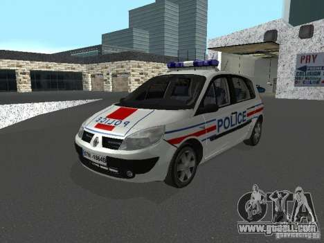 Renault Scenic II Police for GTA San Andreas