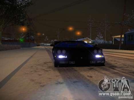 Lamborghini Countach LP5000 for GTA San Andreas side view