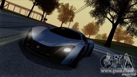 SA Beautiful Realistic Graphics 1.4 for GTA San Andreas seventh screenshot
