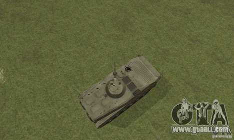 Bmp-1 Grey for GTA San Andreas right view