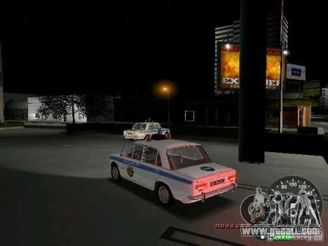 VAZ 2101 Police for GTA Vice City back left view