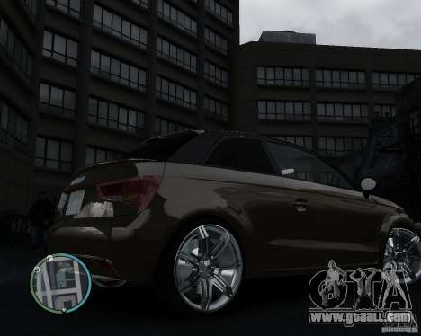 Audi A1 v.2.0 for GTA 4 right view