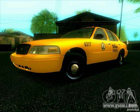 Ford Crown Victoria 2003 TAXI for GTA San Andreas