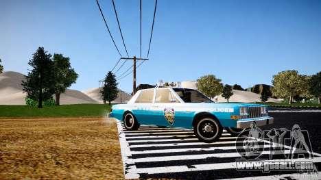 Dodge Diplomat 1983 Police v1.0 for GTA 4 left view