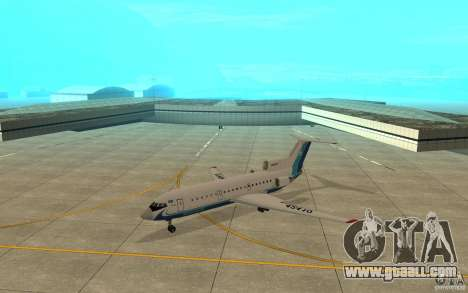 Yak-42 d Scat (Kazakhstan) for GTA San Andreas left view