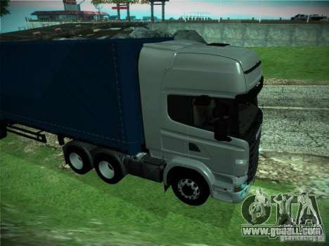 Scania R440 for GTA San Andreas back left view