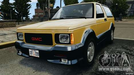 GMC Typhoon v1.1 for GTA 4