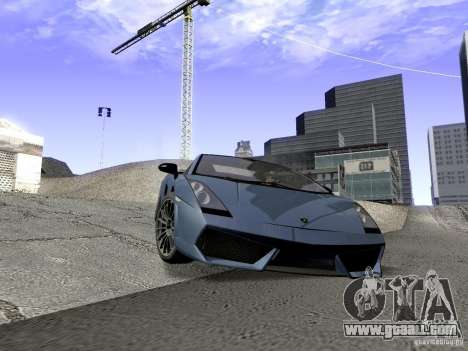LibertySun Graphics For LowPC for GTA San Andreas fifth screenshot