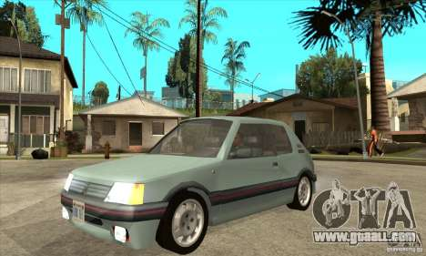 Peugeot 205 GTI v2 for GTA San Andreas