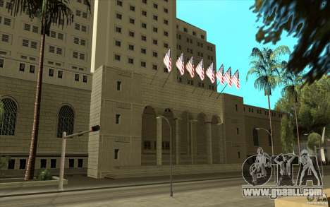 Improved texture of City Hall for GTA San Andreas