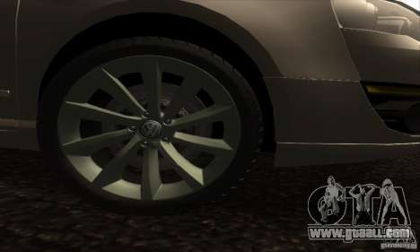 Volkswagen Passat for GTA San Andreas right view