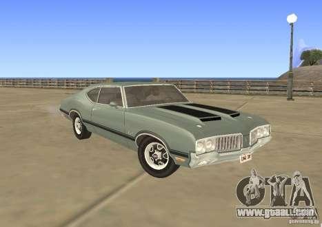 Oldsmobile 442 Cutlass 1970 for GTA San Andreas