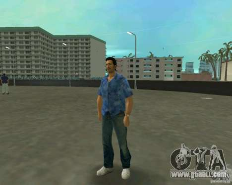 Tommy in HD + new model for GTA Vice City second screenshot