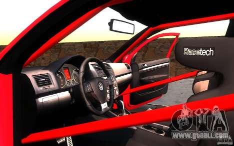 VolksWagen Golf GTI MK5 for GTA San Andreas side view